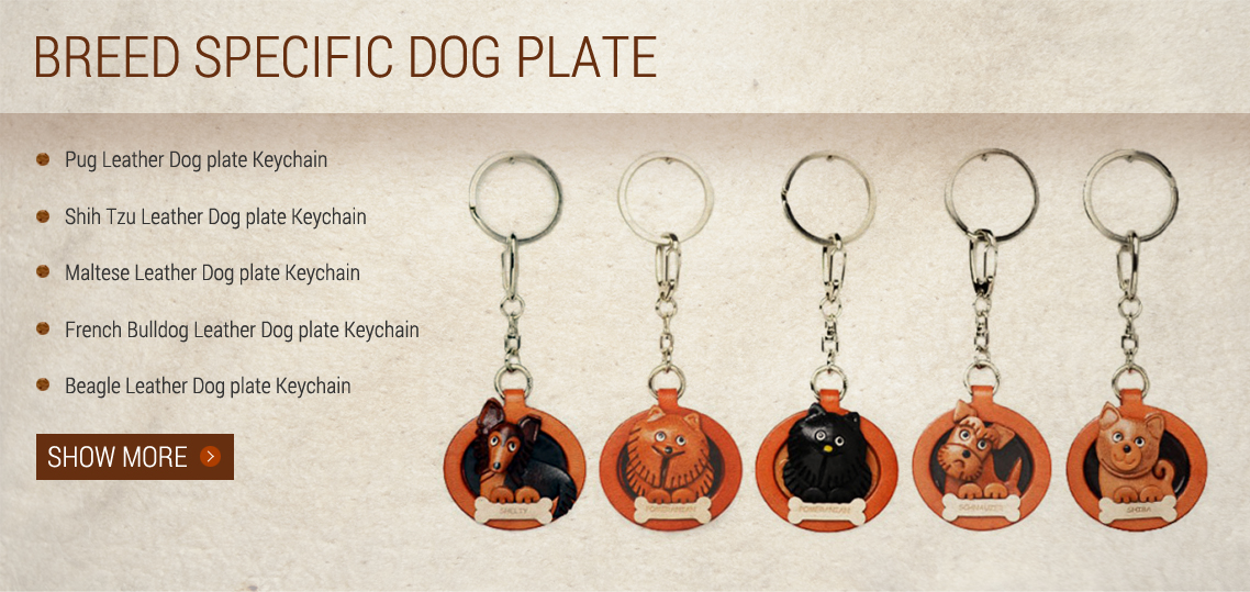 Breed Specific Dog Plate