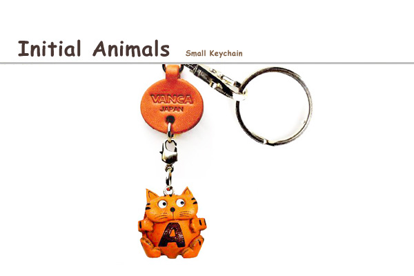 Initial Animals keychain