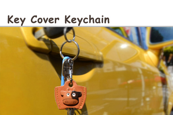 Key Cover Cap Keychain