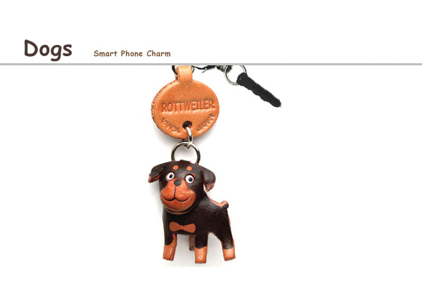 Dog earphone jack charm