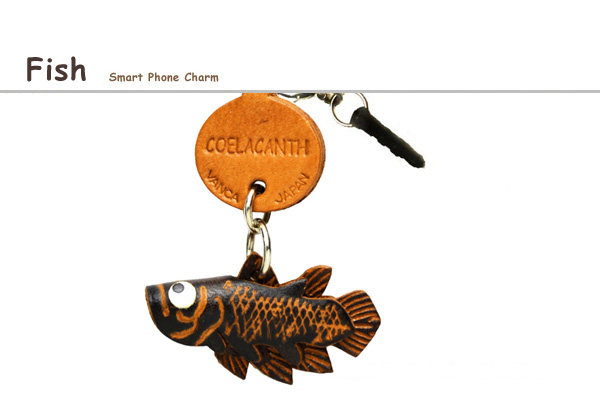 Fish earphone jack charm