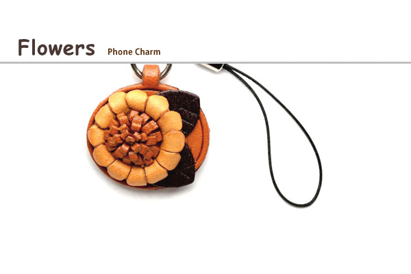Flower phone charms
