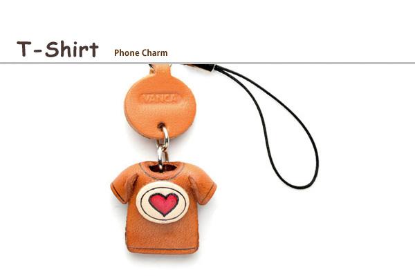 T-shirt phone charm