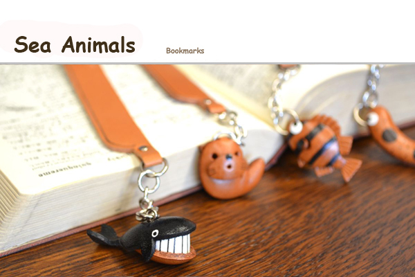 Sea Animal Bookmarks
