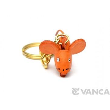 Rat Leather Keychain (Chinese Zodiac)