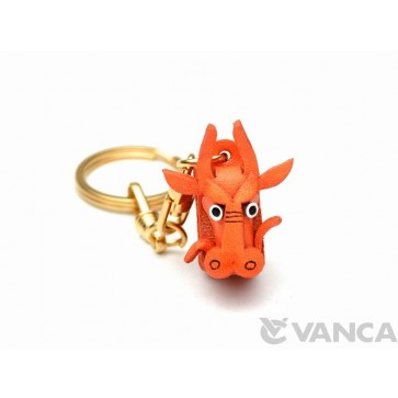 Dragon Leather Keychain (Chinese Zodiac)