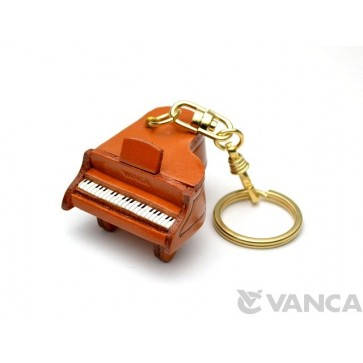 Piano Leather Keychain(L)