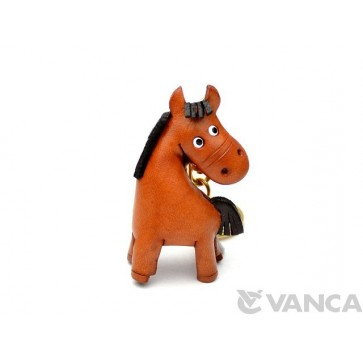 Horse Leather Keychain(L)