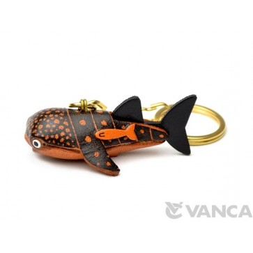 Whale Shark Leather Keychain(L)