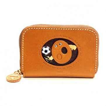 Soccer O Handmade Genuine Leather Animal Business Card Case #26177