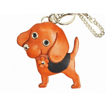 Beagle Handmade Leather Dog/Bag Charm