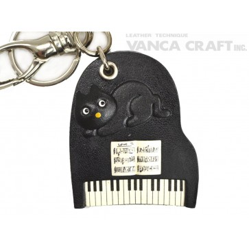 Piano Handmade Leather Goods/Bag Charm