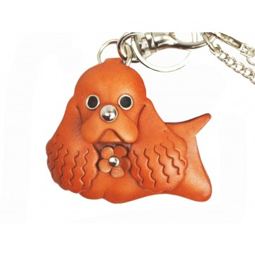 American Cocker Spaniel Leather Dog/Bag Charm