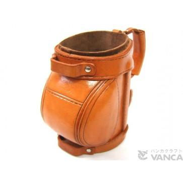 Golf Bag Handmade Leather Eyeglasses Holder/Stand #26223