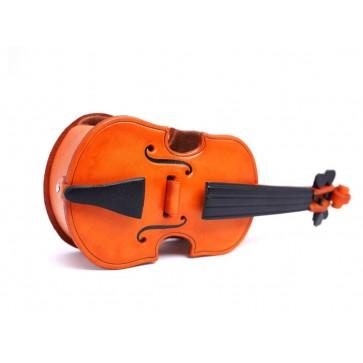 Violin Handmade Leather Eyeglasses Holder/Stand #26220
