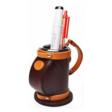 Golf Bag Japanese Leather Pen stand