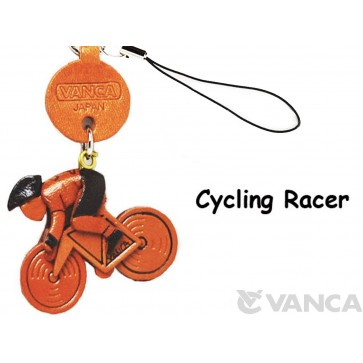 Cycle Racer Japanese Leather Cellularphone Charm Goods
