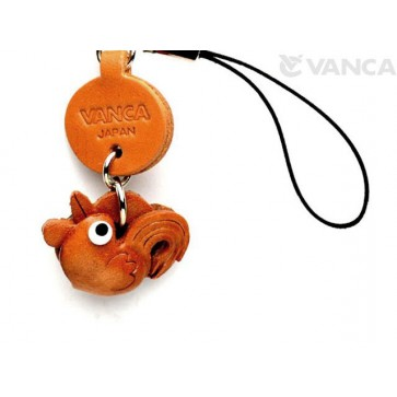 Rooster Japanese Leather Cellularphone Charm Zodiac Mascot