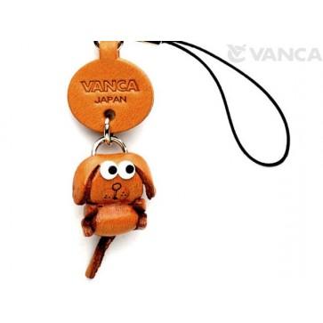 Dog Japanese Leather Cellularphone Charm Zodiac Mascot