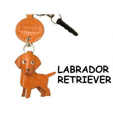 Labrador Retriever Leather Dog Earphone Jack Accessory