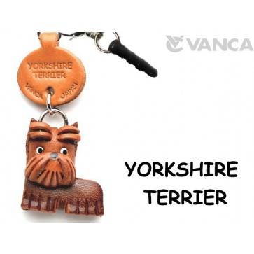 Yorkshire Terrier Leather Dog Earphone Jack Accessory
