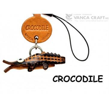 Crocodile Japanese Leather Cellularphone Charm Fish