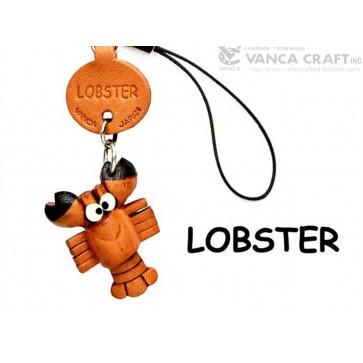 Lobster Japanese Leather Cellularphone Charm Fish