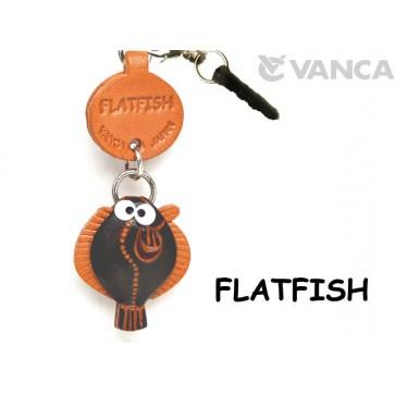 Flatfish Leather Fish & Sea Animal Earphone Jack Accessory