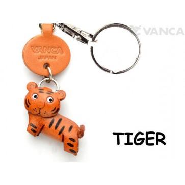 Tiger Japanese Leather Keychains Animal
