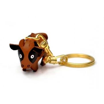 Cow Leather Keychain (Chinese Zodiac)