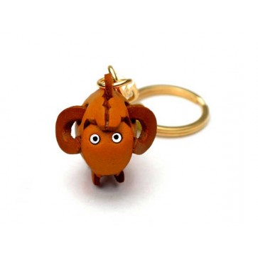 Sheep Leather Keychain (Chinese Zodiac)