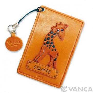 Giraffe Leather Commuter Pass/Passcard Holders