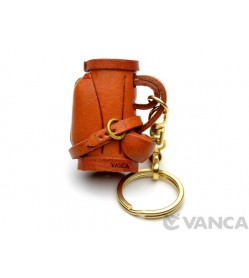 Golf Bag Leather Keychain(L)