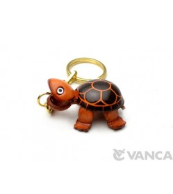 Turtle Leather Keychain(L)