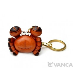 Crab Leather Keychain(L)