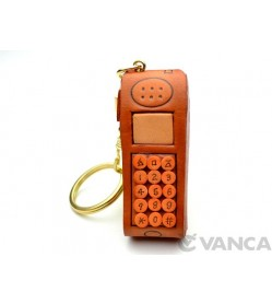 Cellular(Mobile) Phone Leather Keychain(L)