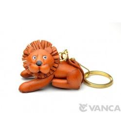 Lion Leather Keychain(L)