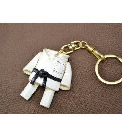 Dou Gi Uniform Leather Keychain(L)