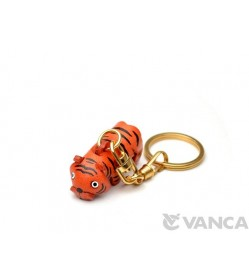 Tiger Leather Keychain (Chinese Zodiac)