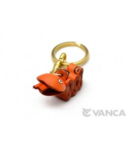 Snake Leather Keychain (Chinese Zodiac)