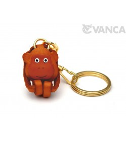 Monkey Leather Keychain (Chinese Zodiac)