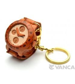 Watch Leather Keychain(L)