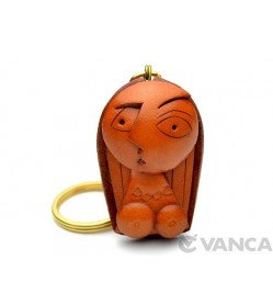 A Woman Leather Keychain(L)