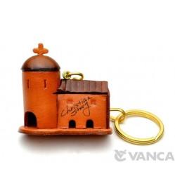Church Leather Keychain(L)