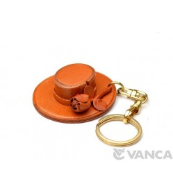 Spanish Hat Leather Keychain(L)