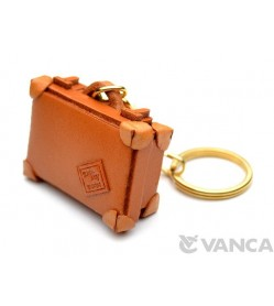 Trunk Leather Keychain(L)