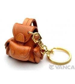 Backpack Leather Keychain(L)