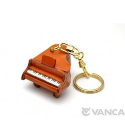 Piano Leather Keychain(L)