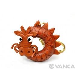 Dragon Leather Keychain(L)