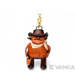 Cowboy Leather Keychain(L)